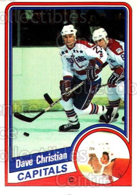 1984-85 O-Pee-Chee #195 Dave Christian<br/>6 In Stock - $1.00 each - <a href=https://centericecollectibles.foxycart.com/cart?name=1984-85%20O-Pee-Chee%20%23195%20Dave%20Christian...&quantity_max=6&price=$1.00&code=26344 class=foxycart> Buy it now! </a>