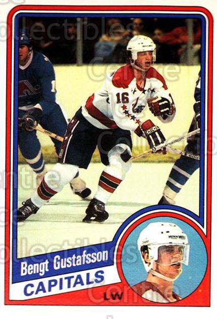 1984-85 O-Pee-Chee #198 Bengt Gustafsson<br/>8 In Stock - $1.00 each - <a href=https://centericecollectibles.foxycart.com/cart?name=1984-85%20O-Pee-Chee%20%23198%20Bengt%20Gustafsso...&quantity_max=8&price=$1.00&code=26347 class=foxycart> Buy it now! </a>