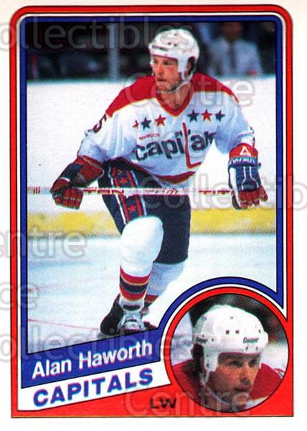 1984-85 O-Pee-Chee #199 Alan Haworth<br/>6 In Stock - $1.00 each - <a href=https://centericecollectibles.foxycart.com/cart?name=1984-85%20O-Pee-Chee%20%23199%20Alan%20Haworth...&quantity_max=6&price=$1.00&code=26348 class=foxycart> Buy it now! </a>