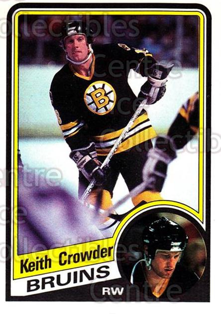 1984-85 O-Pee-Chee #2 Keith Crowder<br/>9 In Stock - $1.00 each - <a href=https://centericecollectibles.foxycart.com/cart?name=1984-85%20O-Pee-Chee%20%232%20Keith%20Crowder...&quantity_max=9&price=$1.00&code=26349 class=foxycart> Buy it now! </a>