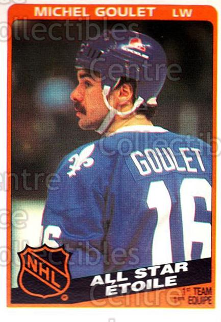 1984-85 O-Pee-Chee #207 Michel Goulet<br/>8 In Stock - $1.00 each - <a href=https://centericecollectibles.foxycart.com/cart?name=1984-85%20O-Pee-Chee%20%23207%20Michel%20Goulet...&quantity_max=8&price=$1.00&code=26357 class=foxycart> Buy it now! </a>