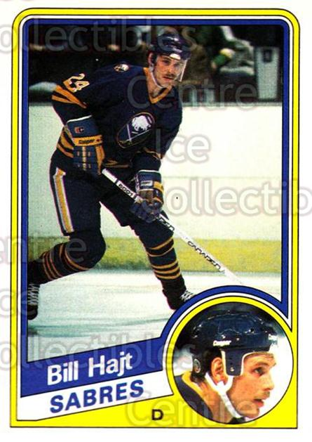 1984-85 O-Pee-Chee #21 Bill Hajt<br/>8 In Stock - $1.00 each - <a href=https://centericecollectibles.foxycart.com/cart?name=1984-85%20O-Pee-Chee%20%2321%20Bill%20Hajt...&quantity_max=8&price=$1.00&code=26359 class=foxycart> Buy it now! </a>