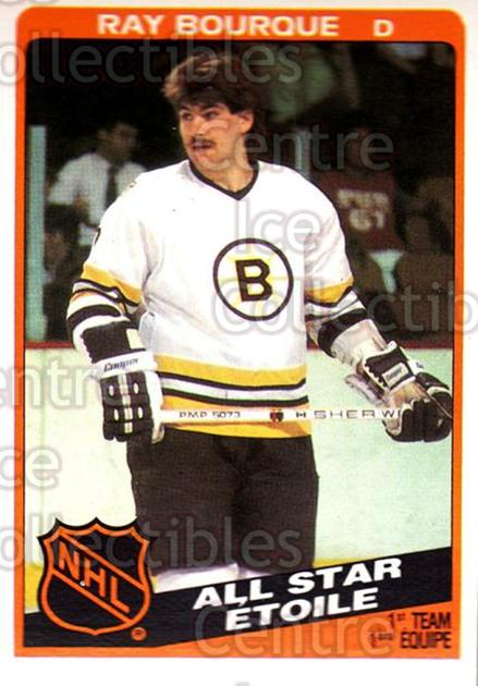 1984-85 O-Pee-Chee #211 Ray Bourque<br/>6 In Stock - $2.00 each - <a href=https://centericecollectibles.foxycart.com/cart?name=1984-85%20O-Pee-Chee%20%23211%20Ray%20Bourque...&quantity_max=6&price=$2.00&code=26361 class=foxycart> Buy it now! </a>
