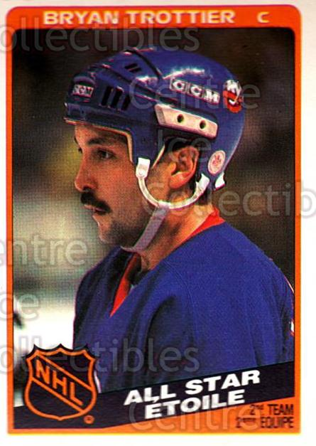 1984-85 O-Pee-Chee #214 Bryan Trottier<br/>7 In Stock - $2.00 each - <a href=https://centericecollectibles.foxycart.com/cart?name=1984-85%20O-Pee-Chee%20%23214%20Bryan%20Trottier...&quantity_max=7&price=$2.00&code=26364 class=foxycart> Buy it now! </a>