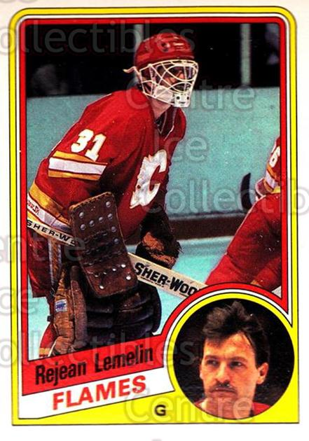 1984-85 O-Pee-Chee #228 Rejean Lemelin<br/>10 In Stock - $1.00 each - <a href=https://centericecollectibles.foxycart.com/cart?name=1984-85%20O-Pee-Chee%20%23228%20Rejean%20Lemelin...&price=$1.00&code=26379 class=foxycart> Buy it now! </a>