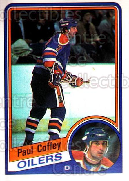 1984-85 O-Pee-Chee #239 Paul Coffey<br/>3 In Stock - $3.00 each - <a href=https://centericecollectibles.foxycart.com/cart?name=1984-85%20O-Pee-Chee%20%23239%20Paul%20Coffey...&quantity_max=3&price=$3.00&code=26390 class=foxycart> Buy it now! </a>