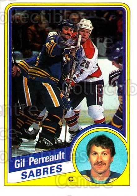 1984-85 O-Pee-Chee #24 Gilbert Perreault<br/>6 In Stock - $2.00 each - <a href=https://centericecollectibles.foxycart.com/cart?name=1984-85%20O-Pee-Chee%20%2324%20Gilbert%20Perreau...&quantity_max=6&price=$2.00&code=26391 class=foxycart> Buy it now! </a>