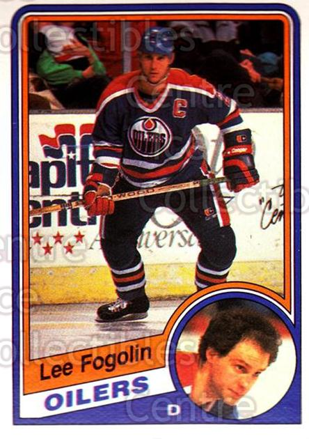1984-85 O-Pee-Chee #240 Lee Fogolin<br/>5 In Stock - $1.00 each - <a href=https://centericecollectibles.foxycart.com/cart?name=1984-85%20O-Pee-Chee%20%23240%20Lee%20Fogolin...&quantity_max=5&price=$1.00&code=26392 class=foxycart> Buy it now! </a>