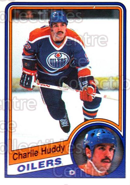 1984-85 O-Pee-Chee #244 Charlie Huddy<br/>3 In Stock - $1.00 each - <a href=https://centericecollectibles.foxycart.com/cart?name=1984-85%20O-Pee-Chee%20%23244%20Charlie%20Huddy...&quantity_max=3&price=$1.00&code=26395 class=foxycart> Buy it now! </a>