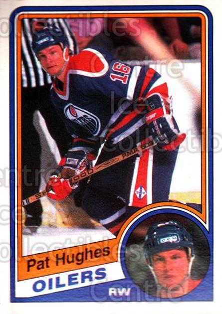 1984-85 O-Pee-Chee #245 Pat Hughes<br/>4 In Stock - $1.00 each - <a href=https://centericecollectibles.foxycart.com/cart?name=1984-85%20O-Pee-Chee%20%23245%20Pat%20Hughes...&quantity_max=4&price=$1.00&code=26396 class=foxycart> Buy it now! </a>