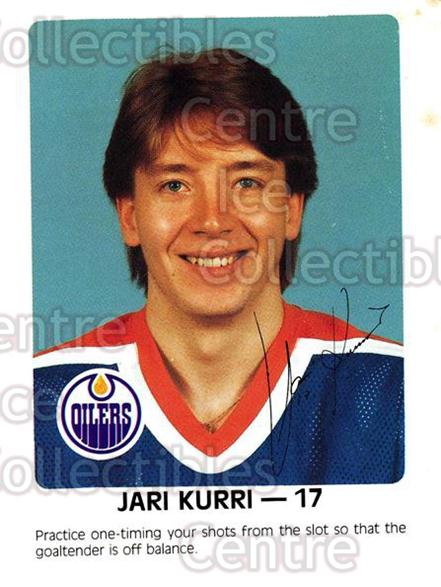 1984-85 Edmonton Oilers Red Rooster #18 Jari Kurri<br/>2 In Stock - $3.00 each - <a href=https://centericecollectibles.foxycart.com/cart?name=1984-85%20Edmonton%20Oilers%20Red%20Rooster%20%2318%20Jari%20Kurri...&quantity_max=2&price=$3.00&code=26399 class=foxycart> Buy it now! </a>