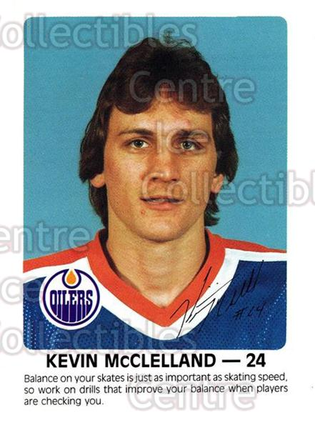 1984-85 Edmonton Oilers Red Rooster #22 Kevin McClelland<br/>8 In Stock - $3.00 each - <a href=https://centericecollectibles.foxycart.com/cart?name=1984-85%20Edmonton%20Oilers%20Red%20Rooster%20%2322%20Kevin%20McClellan...&quantity_max=8&price=$3.00&code=26407 class=foxycart> Buy it now! </a>