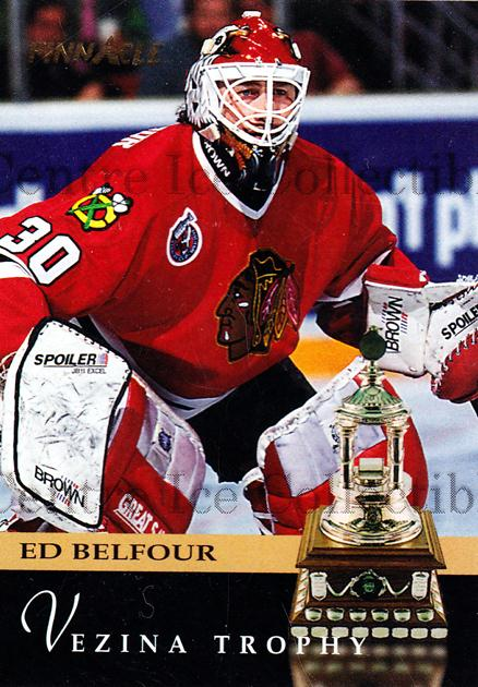 1993-94 Pinnacle USA #224 Ed Belfour, Vezina Trophy<br/>1 In Stock - $1.00 each - <a href=https://centericecollectibles.foxycart.com/cart?name=1993-94%20Pinnacle%20USA%20%23224%20Ed%20Belfour,%20Vez...&quantity_max=1&price=$1.00&code=264138 class=foxycart> Buy it now! </a>