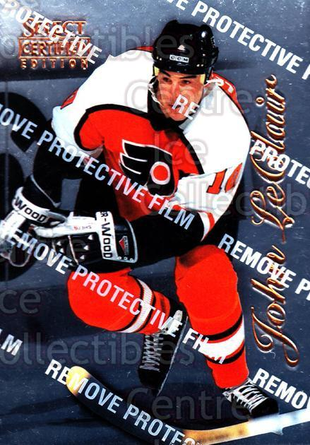 1996-97 Select Certified #33 John LeClair<br/>5 In Stock - $1.00 each - <a href=https://centericecollectibles.foxycart.com/cart?name=1996-97%20Select%20Certified%20%2333%20John%20LeClair...&quantity_max=5&price=$1.00&code=264458 class=foxycart> Buy it now! </a>