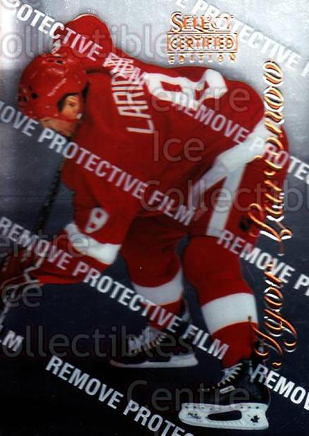 1996-97 Select Certified #62 Igor Larionov<br/>4 In Stock - $1.00 each - <a href=https://centericecollectibles.foxycart.com/cart?name=1996-97%20Select%20Certified%20%2362%20Igor%20Larionov...&quantity_max=4&price=$1.00&code=264487 class=foxycart> Buy it now! </a>