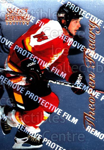 1996-97 Select Certified #75 Theo Fleury<br/>5 In Stock - $1.00 each - <a href=https://centericecollectibles.foxycart.com/cart?name=1996-97%20Select%20Certified%20%2375%20Theo%20Fleury...&quantity_max=5&price=$1.00&code=264500 class=foxycart> Buy it now! </a>