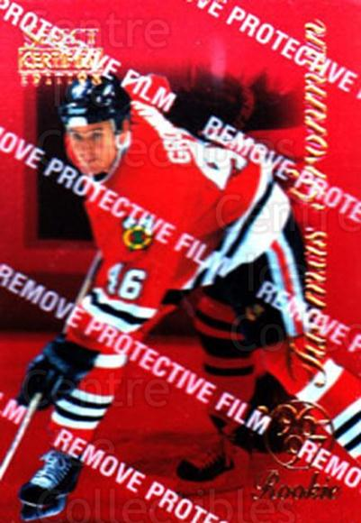 1996-97 Select Certified Red #105 Tuomas Gronman<br/>2 In Stock - $3.00 each - <a href=https://centericecollectibles.foxycart.com/cart?name=1996-97%20Select%20Certified%20Red%20%23105%20Tuomas%20Gronman...&quantity_max=2&price=$3.00&code=264890 class=foxycart> Buy it now! </a>