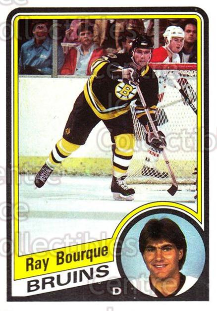 1984-85 Topps #1 Ray Bourque<br/>3 In Stock - $2.00 each - <a href=https://centericecollectibles.foxycart.com/cart?name=1984-85%20Topps%20%231%20Ray%20Bourque...&quantity_max=3&price=$2.00&code=26492 class=foxycart> Buy it now! </a>