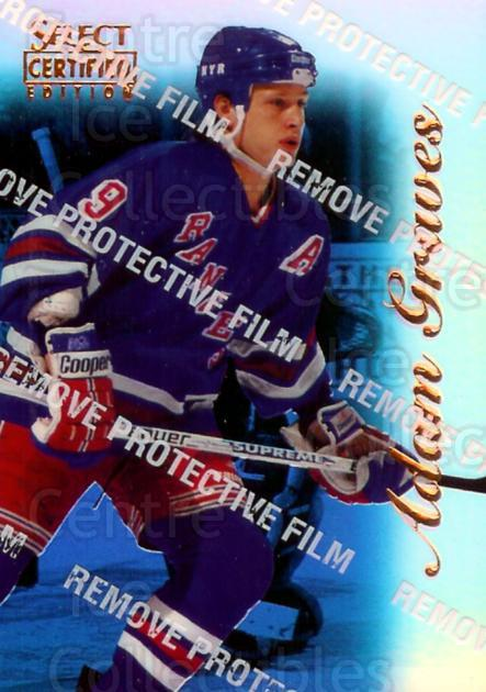 1996-97 Select Certified Mirror Blue #51 Adam Graves<br/>1 In Stock - $5.00 each - <a href=https://centericecollectibles.foxycart.com/cart?name=1996-97%20Select%20Certified%20Mirror%20Blue%20%2351%20Adam%20Graves...&quantity_max=1&price=$5.00&code=264956 class=foxycart> Buy it now! </a>
