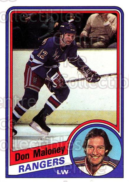 1984-85 Topps #109 Don Maloney<br/>6 In Stock - $1.00 each - <a href=https://centericecollectibles.foxycart.com/cart?name=1984-85%20Topps%20%23109%20Don%20Maloney...&quantity_max=6&price=$1.00&code=26502 class=foxycart> Buy it now! </a>