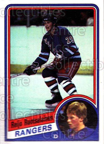 1984-85 Topps #115 Reijo Ruotsalainen<br/>2 In Stock - $1.00 each - <a href=https://centericecollectibles.foxycart.com/cart?name=1984-85%20Topps%20%23115%20Reijo%20Ruotsalai...&quantity_max=2&price=$1.00&code=26509 class=foxycart> Buy it now! </a>