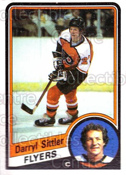 1984-85 Topps #121 Darryl Sittler<br/>5 In Stock - $2.00 each - <a href=https://centericecollectibles.foxycart.com/cart?name=1984-85%20Topps%20%23121%20Darryl%20Sittler...&quantity_max=5&price=$2.00&code=26516 class=foxycart> Buy it now! </a>