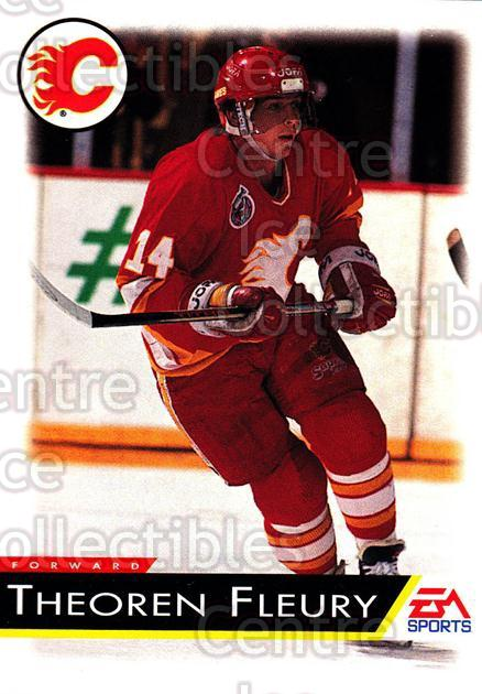 1994 EA Sports #23 Theo Fleury<br/>6 In Stock - $1.00 each - <a href=https://centericecollectibles.foxycart.com/cart?name=1994%20EA%20Sports%20%2323%20Theo%20Fleury...&quantity_max=6&price=$1.00&code=2651 class=foxycart> Buy it now! </a>