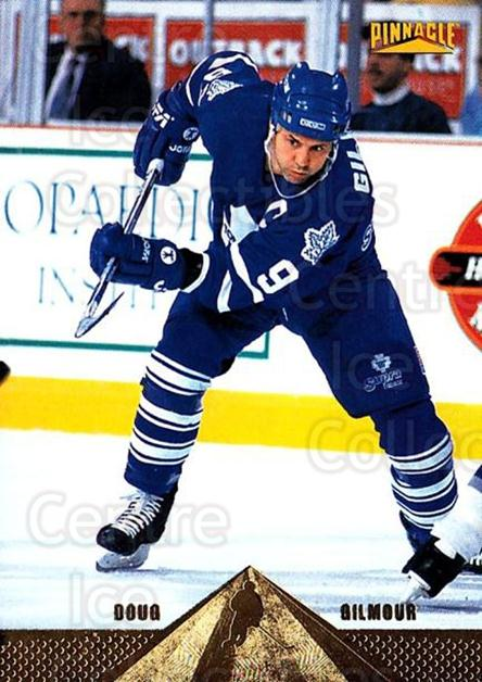 1996-97 Pinnacle #127 Doug Gilmour<br/>4 In Stock - $1.00 each - <a href=https://centericecollectibles.foxycart.com/cart?name=1996-97%20Pinnacle%20%23127%20Doug%20Gilmour...&quantity_max=4&price=$1.00&code=265392 class=foxycart> Buy it now! </a>