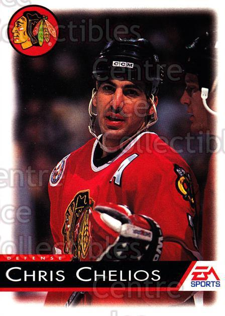 1994 EA Sports #25 Chris Chelios<br/>4 In Stock - $1.00 each - <a href=https://centericecollectibles.foxycart.com/cart?name=1994%20EA%20Sports%20%2325%20Chris%20Chelios...&quantity_max=4&price=$1.00&code=2653 class=foxycart> Buy it now! </a>