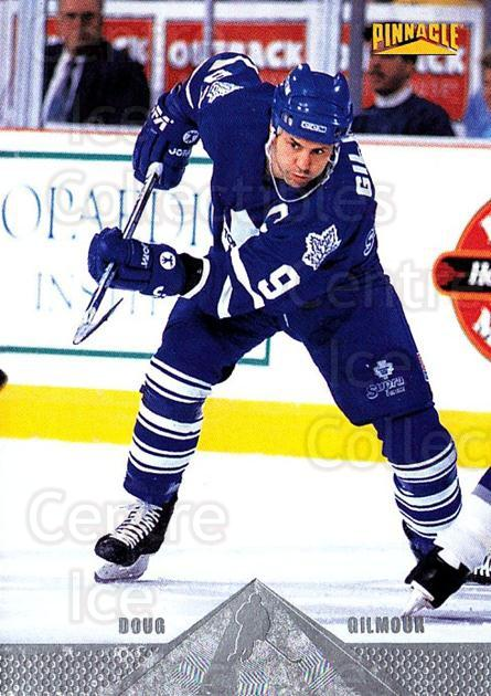 1996-97 Pinnacle Silver Foil #127 Doug Gilmour<br/>4 In Stock - $1.00 each - <a href=https://centericecollectibles.foxycart.com/cart?name=1996-97%20Pinnacle%20Silver%20Foil%20%23127%20Doug%20Gilmour...&quantity_max=4&price=$1.00&code=265642 class=foxycart> Buy it now! </a>
