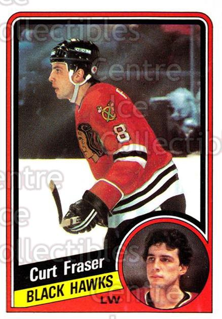1984-85 Topps #29 Curt Fraser<br/>7 In Stock - $1.00 each - <a href=https://centericecollectibles.foxycart.com/cart?name=1984-85%20Topps%20%2329%20Curt%20Fraser...&quantity_max=7&price=$1.00&code=26574 class=foxycart> Buy it now! </a>