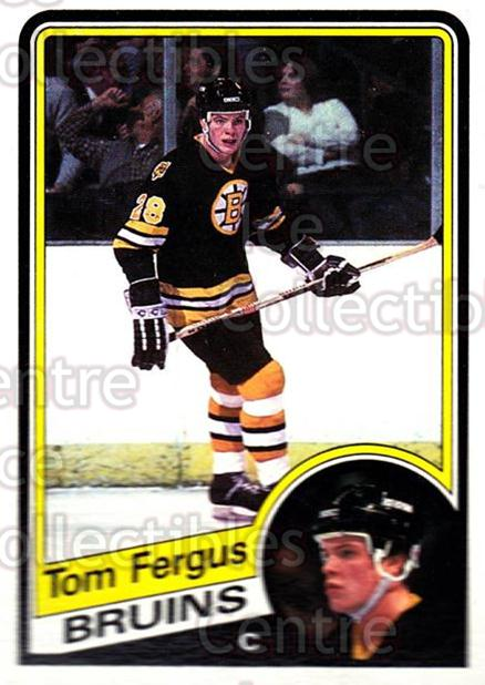 1984-85 Topps #3 Tom Fergus<br/>8 In Stock - $1.00 each - <a href=https://centericecollectibles.foxycart.com/cart?name=1984-85%20Topps%20%233%20Tom%20Fergus...&price=$1.00&code=26575 class=foxycart> Buy it now! </a>