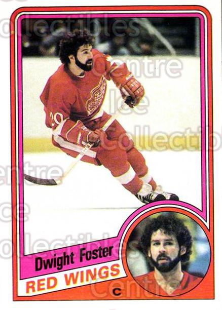 1984-85 Topps #41 Dwight Foster<br/>6 In Stock - $1.00 each - <a href=https://centericecollectibles.foxycart.com/cart?name=1984-85%20Topps%20%2341%20Dwight%20Foster...&quantity_max=6&price=$1.00&code=26587 class=foxycart> Buy it now! </a>