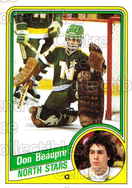 1984-85 Topps #70 Don Beaupre<br/>6 In Stock - $1.00 each - <a href=https://centericecollectibles.foxycart.com/cart?name=1984-85%20Topps%20%2370%20Don%20Beaupre...&quantity_max=6&price=$1.00&code=26617 class=foxycart> Buy it now! </a>