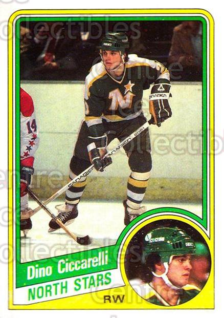 1984-85 Topps #73 Dino Ciccarelli<br/>7 In Stock - $1.00 each - <a href=https://centericecollectibles.foxycart.com/cart?name=1984-85%20Topps%20%2373%20Dino%20Ciccarelli...&quantity_max=7&price=$1.00&code=26620 class=foxycart> Buy it now! </a>