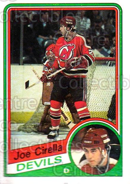 1984-85 Topps #85 Joe Cirella<br/>4 In Stock - $1.00 each - <a href=https://centericecollectibles.foxycart.com/cart?name=1984-85%20Topps%20%2385%20Joe%20Cirella...&quantity_max=4&price=$1.00&code=26632 class=foxycart> Buy it now! </a>