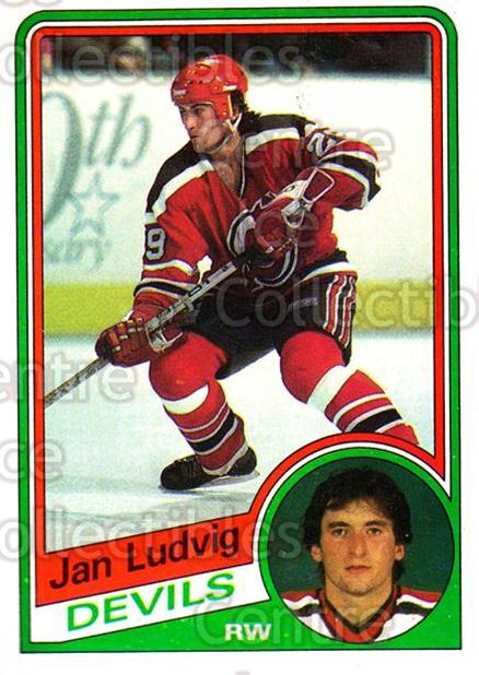 1984-85 Topps #88 Jan Ludvig<br/>5 In Stock - $1.00 each - <a href=https://centericecollectibles.foxycart.com/cart?name=1984-85%20Topps%20%2388%20Jan%20Ludvig...&quantity_max=5&price=$1.00&code=26635 class=foxycart> Buy it now! </a>