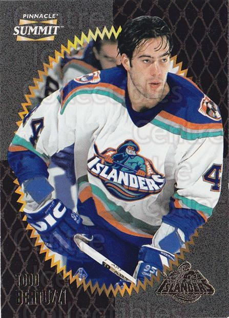 1996-97 Summit #154 Todd Bertuzzi<br/>4 In Stock - $1.00 each - <a href=https://centericecollectibles.foxycart.com/cart?name=1996-97%20Summit%20%23154%20Todd%20Bertuzzi...&quantity_max=4&price=$1.00&code=266669 class=foxycart> Buy it now! </a>