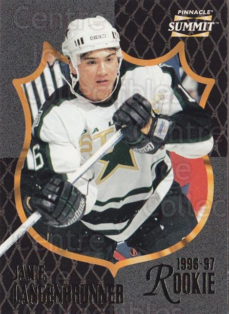 1996-97 Summit #192 Jamie Langenbrunner<br/>1 In Stock - $1.00 each - <a href=https://centericecollectibles.foxycart.com/cart?name=1996-97%20Summit%20%23192%20Jamie%20Langenbru...&quantity_max=1&price=$1.00&code=266707 class=foxycart> Buy it now! </a>