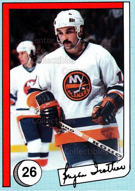 1985 New York Islanders News Bryan Trottier #26 Mike Bossy, Bryan Trottier<br/>5 In Stock - $2.00 each - <a href=https://centericecollectibles.foxycart.com/cart?name=1985%20New%20York%20Islanders%20News%20Bryan%20Trottier%20%2326%20Mike%20Bossy,%20Bry...&price=$2.00&code=26684 class=foxycart> Buy it now! </a>