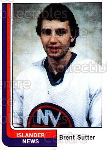 1984-85 New York Islanders News #13 Brent Sutter<br/>7 In Stock - $3.00 each - <a href=https://centericecollectibles.foxycart.com/cart?name=1984-85%20New%20York%20Islanders%20News%20%2313%20Brent%20Sutter...&quantity_max=7&price=$3.00&code=26701 class=foxycart> Buy it now! </a>