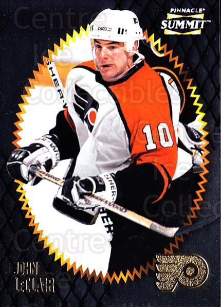 1996-97 Summit Metal Dull Front #6 John LeClair<br/>4 In Stock - $1.00 each - <a href=https://centericecollectibles.foxycart.com/cart?name=1996-97%20Summit%20Metal%20Dull%20Front%20%236%20John%20LeClair...&quantity_max=4&price=$1.00&code=267121 class=foxycart> Buy it now! </a>