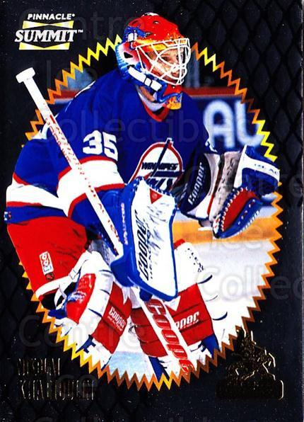 1996-97 Summit Metal Dull Front #41 Nikolai Khabibulin<br/>4 In Stock - $1.00 each - <a href=https://centericecollectibles.foxycart.com/cart?name=1996-97%20Summit%20Metal%20Dull%20Front%20%2341%20Nikolai%20Khabibu...&quantity_max=4&price=$1.00&code=267156 class=foxycart> Buy it now! </a>