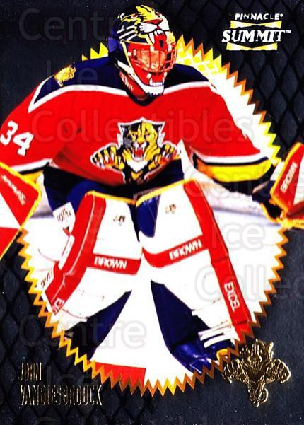 1996-97 Summit Metal Dull Front #66 John Vanbiesbrouck<br/>1 In Stock - $1.00 each - <a href=https://centericecollectibles.foxycart.com/cart?name=1996-97%20Summit%20Metal%20Dull%20Front%20%2366%20John%20Vanbiesbro...&quantity_max=1&price=$1.00&code=267181 class=foxycart> Buy it now! </a>