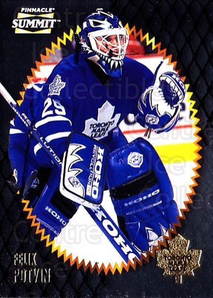 1996-97 Summit Metal Dull Front #72 Felix Potvin<br/>2 In Stock - $2.00 each - <a href=https://centericecollectibles.foxycart.com/cart?name=1996-97%20Summit%20Metal%20Dull%20Front%20%2372%20Felix%20Potvin...&quantity_max=2&price=$2.00&code=267187 class=foxycart> Buy it now! </a>
