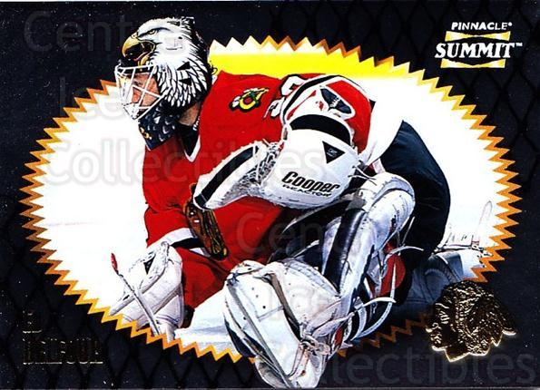 1996-97 Summit Metal Dull Front #97 Ed Belfour<br/>1 In Stock - $2.00 each - <a href=https://centericecollectibles.foxycart.com/cart?name=1996-97%20Summit%20Metal%20Dull%20Front%20%2397%20Ed%20Belfour...&quantity_max=1&price=$2.00&code=267212 class=foxycart> Buy it now! </a>