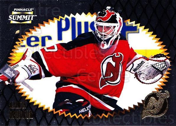 1996-97 Summit Metal Dull Front #114 Martin Brodeur<br/>1 In Stock - $5.00 each - <a href=https://centericecollectibles.foxycart.com/cart?name=1996-97%20Summit%20Metal%20Dull%20Front%20%23114%20Martin%20Brodeur...&quantity_max=1&price=$5.00&code=267229 class=foxycart> Buy it now! </a>