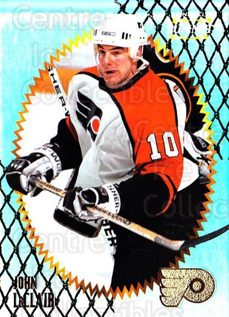 1996-97 Summit Premium Stock Shinny Front #6 John LeClair<br/>5 In Stock - $1.00 each - <a href=https://centericecollectibles.foxycart.com/cart?name=1996-97%20Summit%20Premium%20Stock%20Shinny%20Front%20%236%20John%20LeClair...&quantity_max=5&price=$1.00&code=267321 class=foxycart> Buy it now! </a>