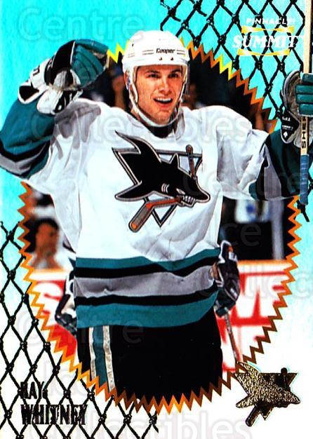 1996-97 Summit Premium Stock Shinny Front #83 Ray Whitney<br/>4 In Stock - $1.00 each - <a href=https://centericecollectibles.foxycart.com/cart?name=1996-97%20Summit%20Premium%20Stock%20Shinny%20Front%20%2383%20Ray%20Whitney...&quantity_max=4&price=$1.00&code=267398 class=foxycart> Buy it now! </a>