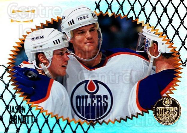 1996-97 Summit Premium Stock Shinny Front #103 Jason Arnott<br/>2 In Stock - $1.00 each - <a href=https://centericecollectibles.foxycart.com/cart?name=1996-97%20Summit%20Premium%20Stock%20Shinny%20Front%20%23103%20Jason%20Arnott...&quantity_max=2&price=$1.00&code=267418 class=foxycart> Buy it now! </a>